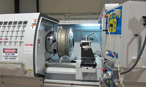 truck wheel repair mcnc machine