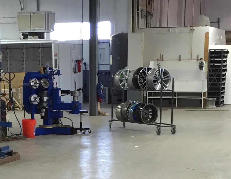 hi-tech wheel straightening equipment