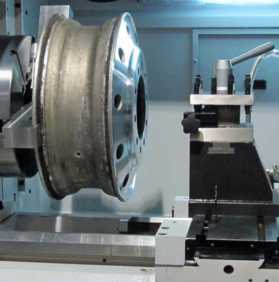 wheel repair CNC machine