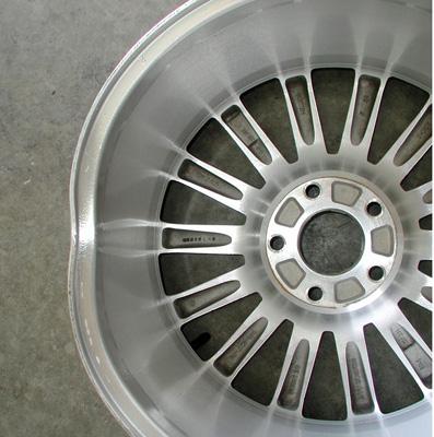 bent auto wheel