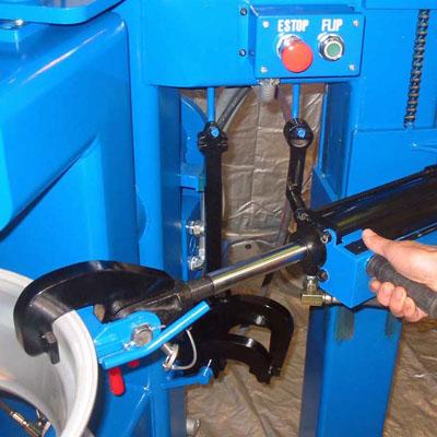 bent wheel repair tool