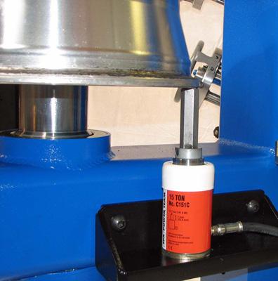 bent wheel repair equipment