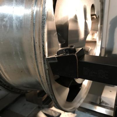 diamond cut cnc wheel machine