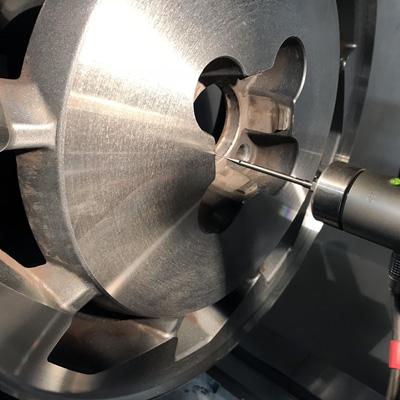 diamond cut cnc whell machine
