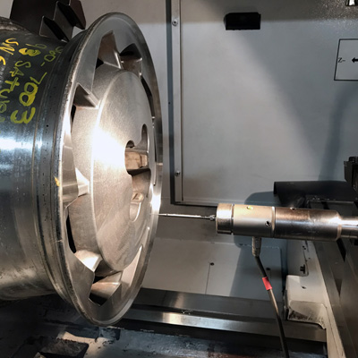 diamond cut wheel repair machine