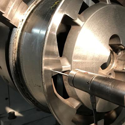 diamond cut wheel repair lathe