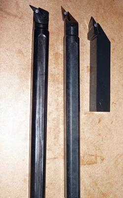 wheel repair machine toolholder