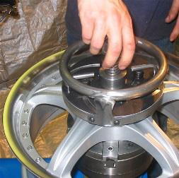 wheel repair equipment