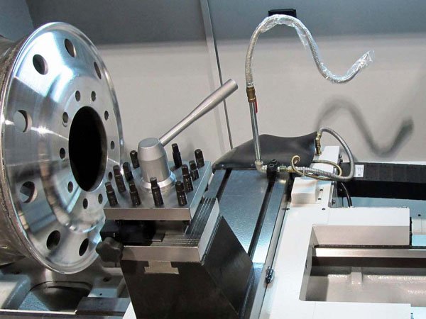diamond cut wheel lathe machine
