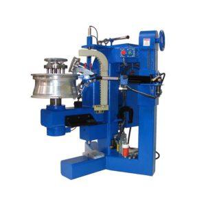 automatic alloy wheel straightening machine