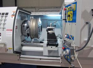 hi-tech wheel repair cnc machine