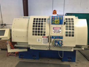 used alloy wheel repair machine