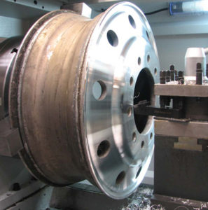 alloy wheel repair CNC machine