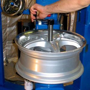 alic wheel straightening machine