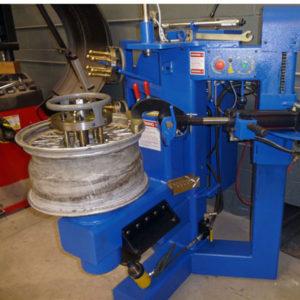 bent alloy wheel repair tool