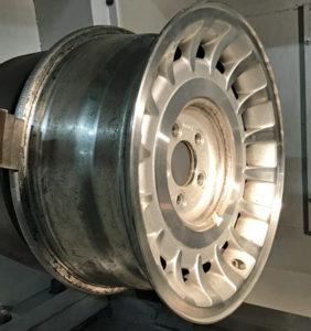 diamond cut alloy wheel repair CNC machine