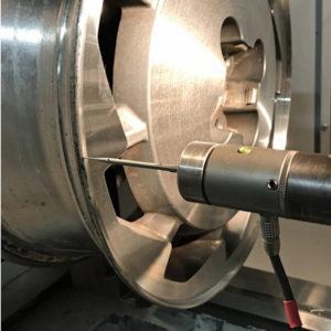 diamond cut cnc wheel refinishing machine