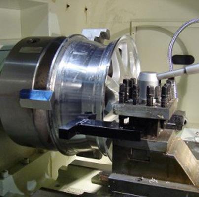 alloy wheel refinishing cnc machine