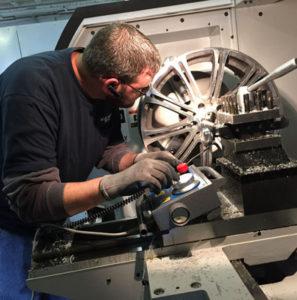auto wheel repair cnc machine