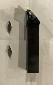 wheel cnc machine diamond cut toolholder