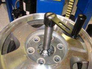 wheel straightening equipment