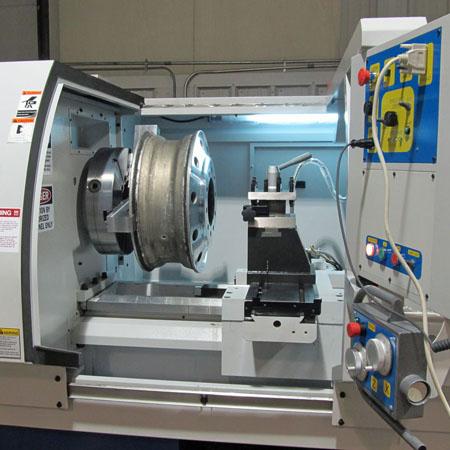 Diamond cut CNC machine