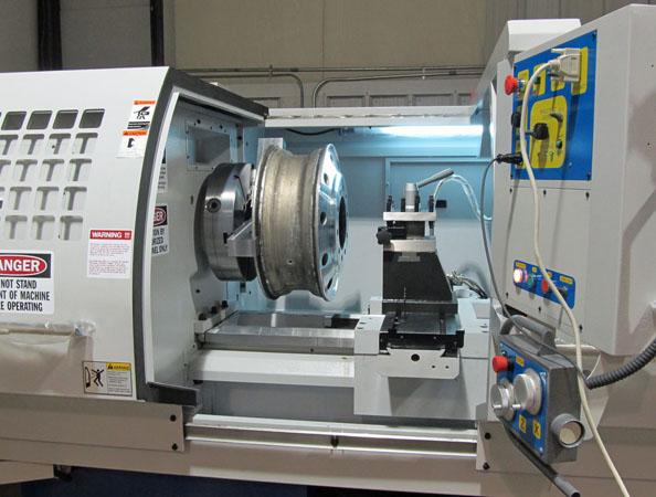 Wheel repair CNC