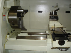 Wheel repair lathe