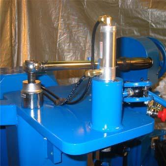 Wheel repair machine