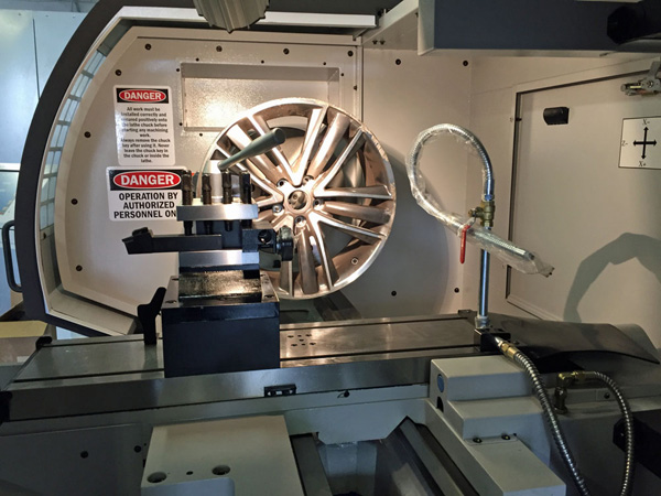Wheel CNC Lathe